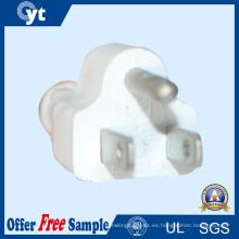 Cable de enchufe de Estados Unidos 250V 2.5A 3 Pin de Estados Unidos