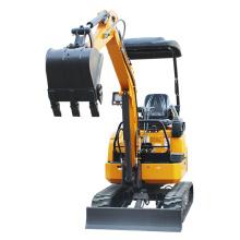 1.8 ton mini crawler excavator rubber track mini digger