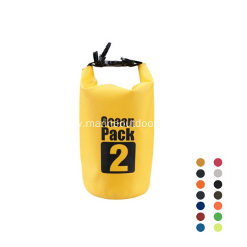 Custom Logo Outdoor PVC Waterproof Roll Top 2L Dry Bag