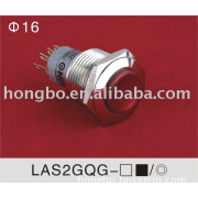 ONPOW LAS2-GQ Series metal push-button switch (Dia.16mm)