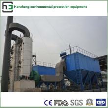 Operação de dessulfuração e desnitrificação - Tratamento do fluxo de ar do forno Ea