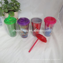 alta calidad hermosa únicos vasos de plástico