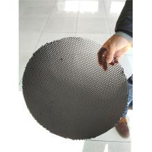 Forme ronde en nid d'abeille en aluminium