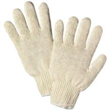 Guantes, algodón popular caliente 100% guantes blanco a tejido apretado.