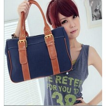 Fashion High Quality 4 Colors Women Canvas Handbag