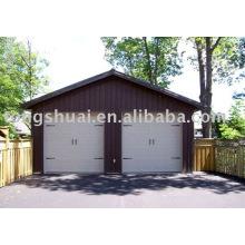 Porta aérea da garagem