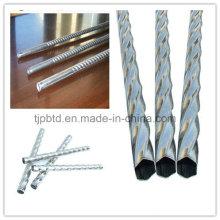 Barra torcida de aço inoxidável quadrada da barra de Q235 Ms