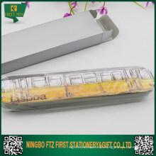 Caixa de lata retangular barata para presente para caneta