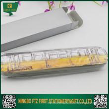 Дешевый прямоугольный оловянный ящик для подарка пера