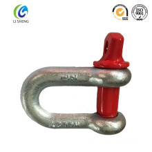 Color painted screw pin d shackle