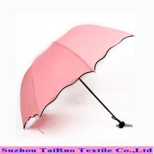 Tafetá 100% poliéster com impermeável para tecido de guarda-chuva