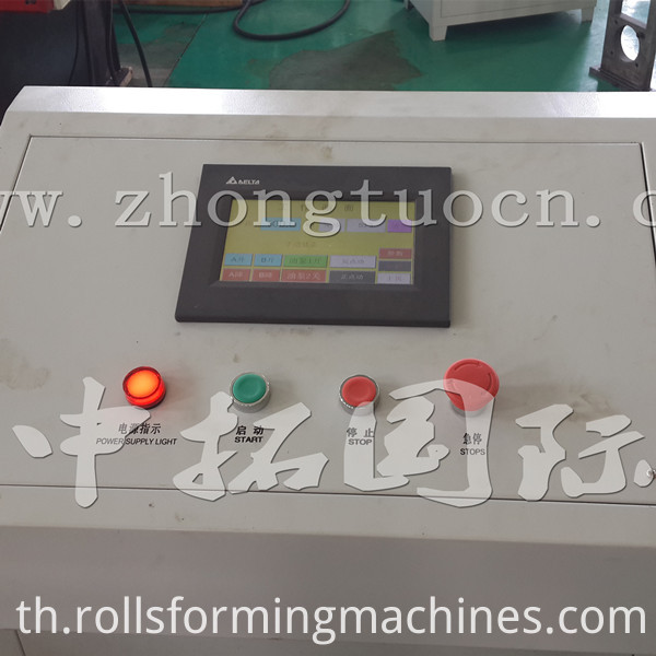 Corrugated board roll forming machine (9)