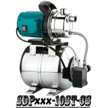 (SDP800-10S-CS) Garden Self-Priming Jet Booster Pump with Steel Tank