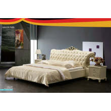 Modern Design Leather Bed, Bedroom Furniture, Bed (J322)