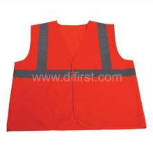 Hot Sale Basic Reflective Safety Vest, 100% Polyester