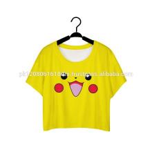 pokemon printed women girls tops and t shirt