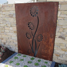 Decorative Corten Steel Metal Screens