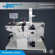 Etiqueta de la etiqueta engomada del tipo de la economía que corta y rotatoria mueren la máquina de corte