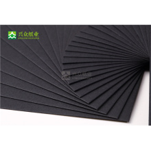 china black heart paperboard eco friendly thick black cardboard