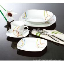 square ceramic dinner set,modern square dinner set