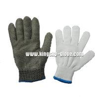 Gant anti-coupure en maille métallique en acier inoxydable-2351