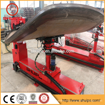 Dished head Flanging Machine for making tank