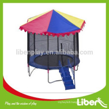 Cheap Small Size Round Trampoline with Enclosure and Shelter