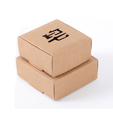 Individuelle Geschenkbox Craft Paper Soap Packing Box