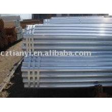 Tubos de acero al carbono SMLS galvanizado