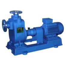 Horizontal-amorçante pompe à eau centrifuge d'eaux usées Non colmatant