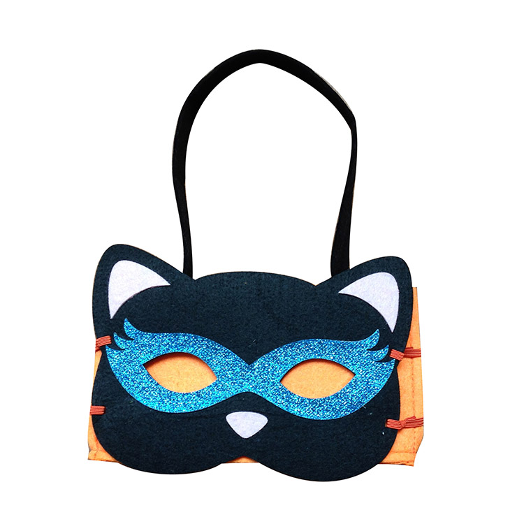 Halloween Tote Bag With Halloween Mask