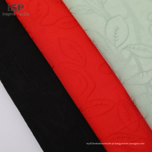 Atacado barato 100% Rayon Floral respirável Jacquard tecido