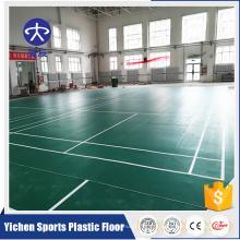 Orgânico e 100% puro PVC virgem matérias-primas pvc esporte piso fabricante