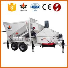 Mobile vollautomatische Betonmischanlage zum Verkauf