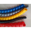 Protetor espiral de plástico para mangueira hidráulica