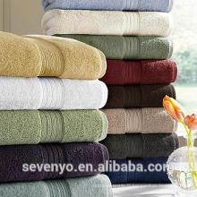 Haute qualité 100% coton 600GSM éponge hôtel salle de bain serviette de bain, couleur multiple BtT-148 Chine fournisseur