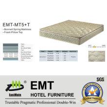 Matelas à lit pour chambre d'hôtel étoile (EMT-MT5 + T)