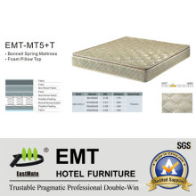 Bed Mattress for Star Hotel Bedroom (EMT-MT5+T)