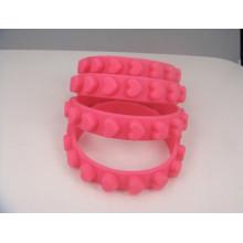 Wasserdichtes Silikon-Armband-weiches Handgelenk-Bügel (GZHY-SW-004)