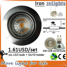 5W LED Down Light Branco Epistar LED Downlight para casa (DL-GU10 5W)