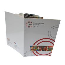 Hoge kwaliteit afdrukken papier Brochure Flyer