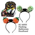 Lustiges blinkendes Halloween-Stirnband-Neuheit-Spielzeug