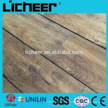Piso de madeira imitado para fácil clique estratificado piso com superfície EIR