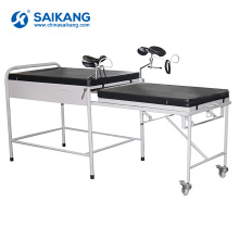 A050 Hospital Adjustable Gynecology Examination Obstetric Couch Bed
