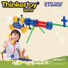 Brinquedos Criativos Bloco de Construção para Crianças em Gun Shape