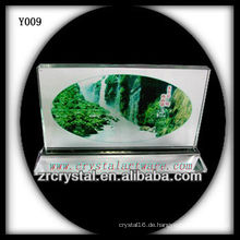 Bunter Druck Foto Kristall Y009
