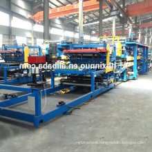Automatic china manufactures eps composite wall board moulding roof panel production line / machine for sandwich wall panel