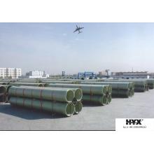 Tubo de fibra de vidro para indústria