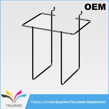 OEM Design Slatwall Literature Display Pocket-4 for Magazine Brochure Stands