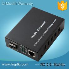 4 порта 10/100/1000BASE-T с разъемом RJ45 + 4 портами 100/1000 Мбит / с SFP-слота 8 порт медиаконвертера